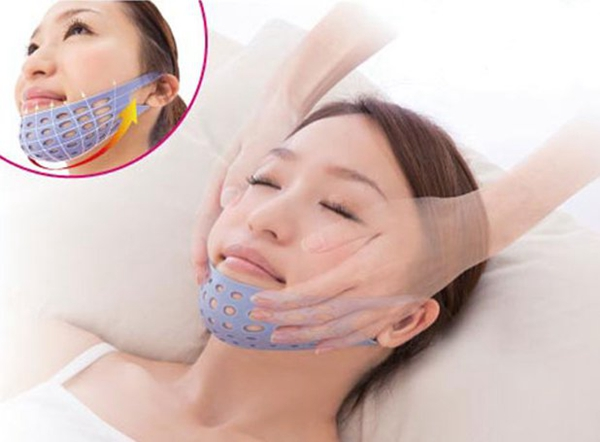 Oval Facial Shape Lifting Mask 3D Molding Sleep Thin Face Belt