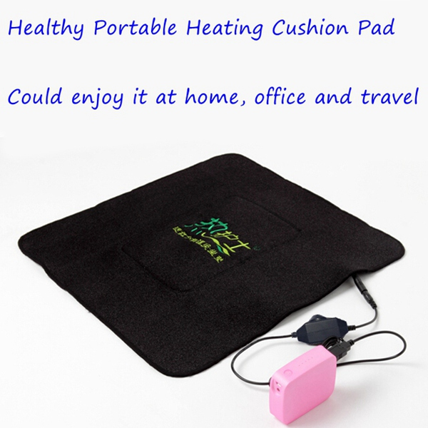 Portable Carbon Fiber Electric Far Infrared Ray Heating Cushion Pad