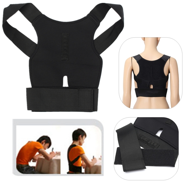 Back Support Belt Lumbar Shoulder Posture Spine Correction Straighten Brace adult back corset posture corrector back shoulder lumbar braces spine support belt posture correction back support for men women