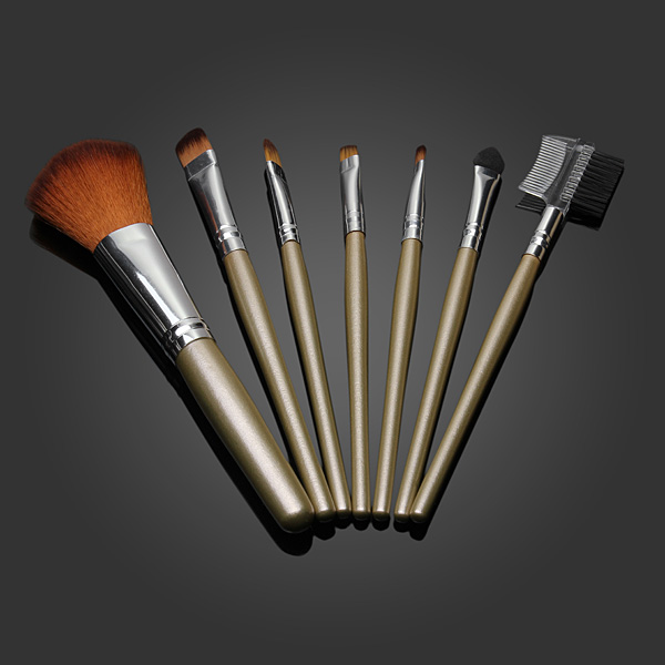 7Pcs Concealer Powder Blush Brush Cosmetic Makeup Brushes Set