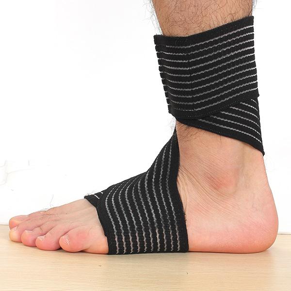 2Pcs Elastic Brace Protection Ankle Sport Compression Bandage