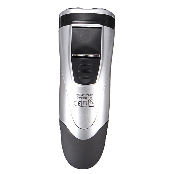 KM-8863 220-240V 3 In 1 Rotary Electric Razor Rechargeable Shaver