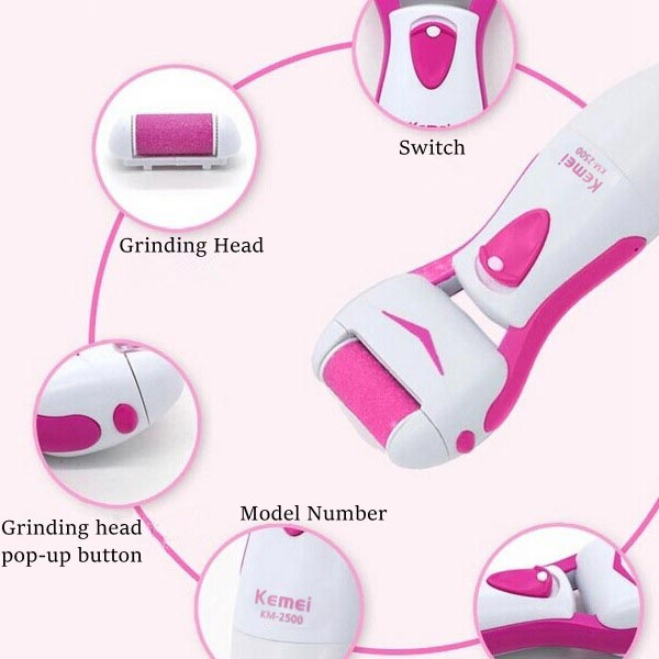 Electric Feet Dead Skin Removal Heel Cuticles Pedicure Foot Care Tool