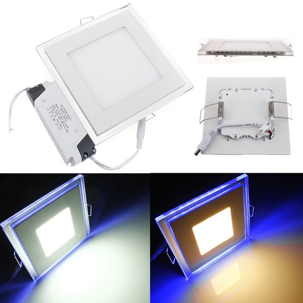 20W Square Acrylic LED CREE Recessed Panel Down Light For Indoor - EachineLED Panel Lights<br>Features: Ceiling Down Light has high efficiency light distribution technology, high light distribution, High luminous efficiency, about 80%-90% light utilization rate; High brightness with long lived performance about 50, 000 hours to 100, 000 hours; Green and environmental-friendly: No UV or IR radiation; Low power consumption; Safe and easy to assemble. color is available according to the customers requirement. Specifications: Acrylic LED Panel Ceiling Light Power: 20W Voltage: AC100V-245V Driver: Constant Current Driver Light Color: Cool White(6000-6500K) ; Warm White(3000-3500k) Led: 20W -- Front light: 5730 White e SMD Led  30 beads(15W) Side light: 3528 Blue SMD Led  80 beads(5W) Shell Color: White Life Time: 150,000H Bean Angle:120 Degree Waterproof Credit: IP20 Projection Distance: 3M Work Temperature -25~+65 Material: Die-cast aluminum &amp; Acrylic Heat Sink Material Casting Aluminum Alloy Package Included: 1 x LED Panel Light 1 x Driver<br>