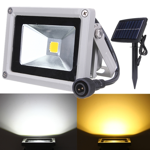 10W Solar Power LED Flood Light Waterproof Outdoor Landscape Spotlight газовая плита flama fg 24211 w газовая духовка белый