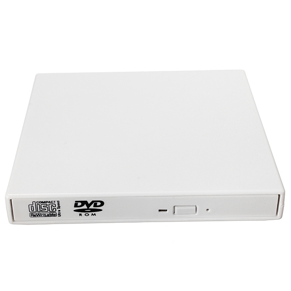 USB 2.0 External Combo Optical Drive CD-DVD Player Burner for PC