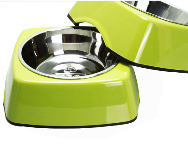Pet Dog Square Bowl
