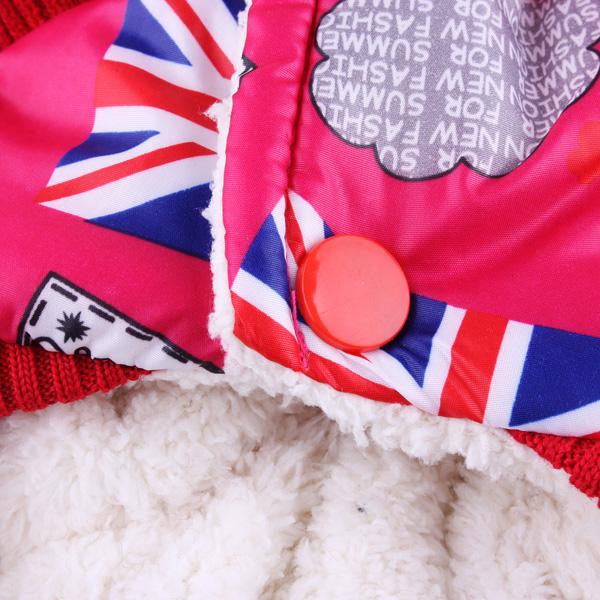 Pet UK Flag Jumpsuit