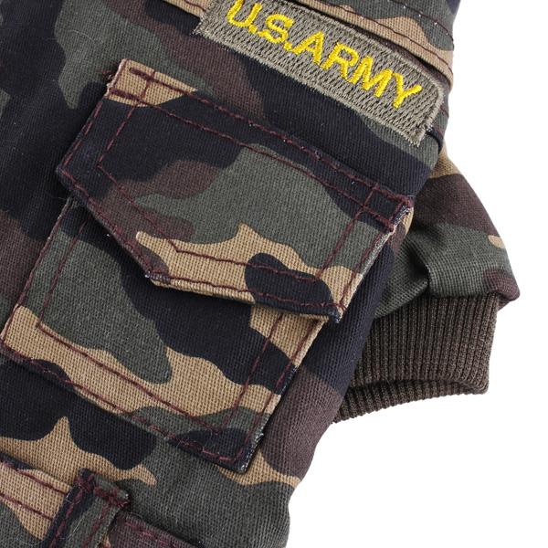Pet Camouflage USA Coat