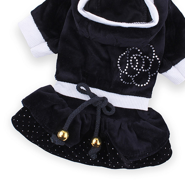 Pet Camellia Cake Dress