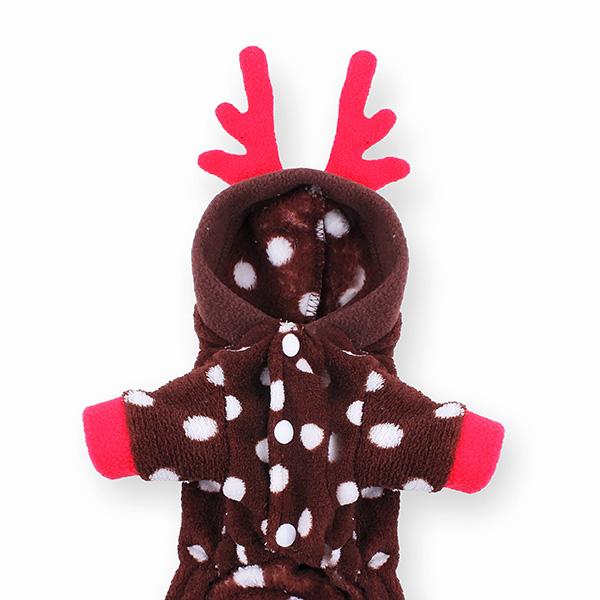Deer Design Pet Jumpsuit