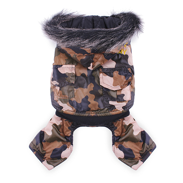 Pet Camouflage Waterproof Jumpsuit
