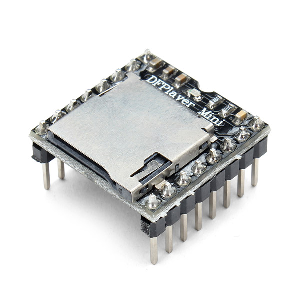DFPlayer Mini MP3 Player Module For Arduino voice card inside the module m2u single module supports two way intercom 100