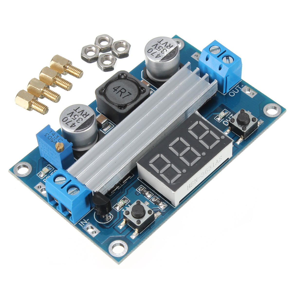 DC-DC Adjustable Step Up Power Module 10 pcs lot dc dc buck converter step down voltage module 6v 12v 20v 24v adjustable power supply 7 40v to 1 2 35v 8a 300w