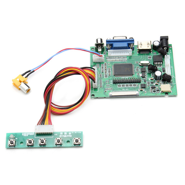 Universal LCD Display Driver Board PS2PS3xbox360 HDMI AV VGA double sided prototyping pcb universal board 6 x 8cm 5 pcs