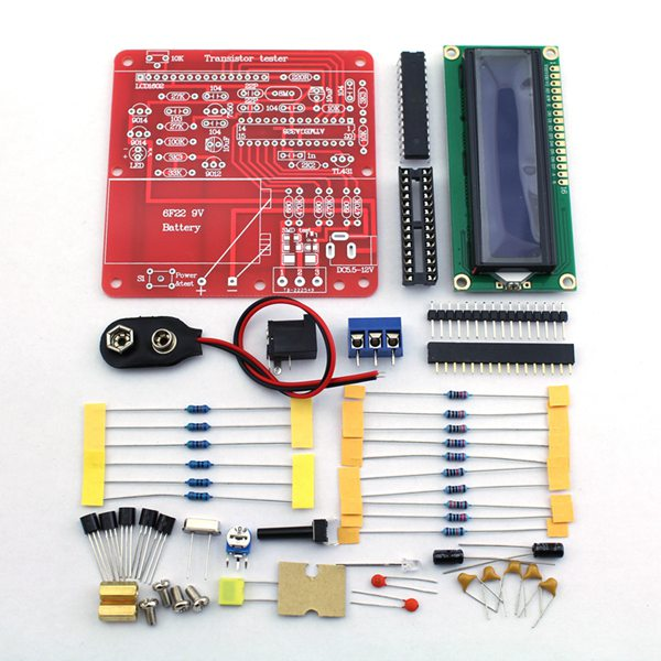 DIY Multifunction Transistor Tester Kit For LCR ESR Transistor PWM Signal Generator free shipping 2sc2060 c2060 2060 npn transistor to 92l triode power transistor 50pcs bag