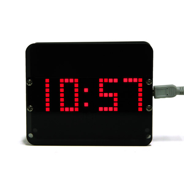 DIY DS3231 Gravity Sensor LED Digital Phantom Clock Kit