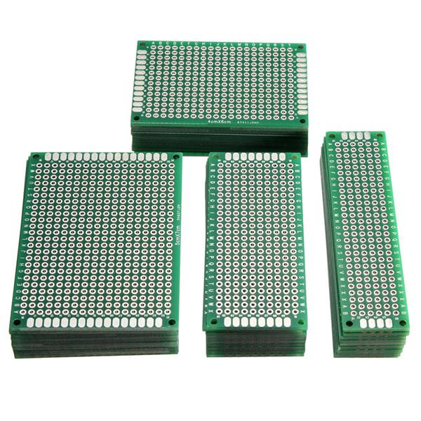 40Pcs FR-4 Double Side Prototype PCB Printed Circuit Board autotoolhome 10pc cnc cutter pcb print circuit board carbide micro drill bits tool end milling 0 3mm to 1 2 mm