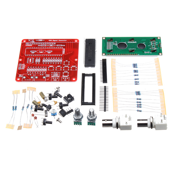 DDS Function Signal Generator Module DIY Kit Pulse Sine Wave fy2300h 50mhz arbitrary waveform dual channel high frequency signal generator 250msa s 100mhz frequency meter dds