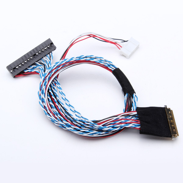 40Pin 2 Channel 6 Bit LED LCD LVDS Screen Cable new original for lenovo thinkpad e540 hd 720p fhd 1080p screen laptop lvds vga lcd cable flex 04x4329 04x4327 04x4328 tou