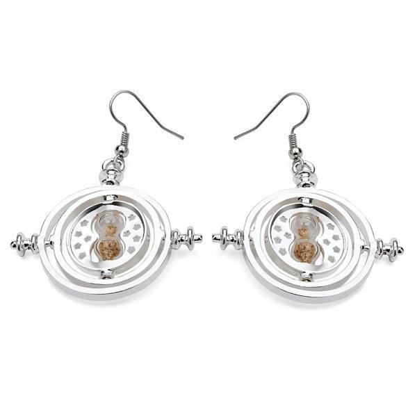 Rotating Hourglass Earrings