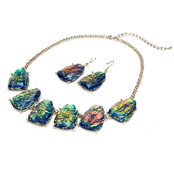 Irregular Jewelry Set