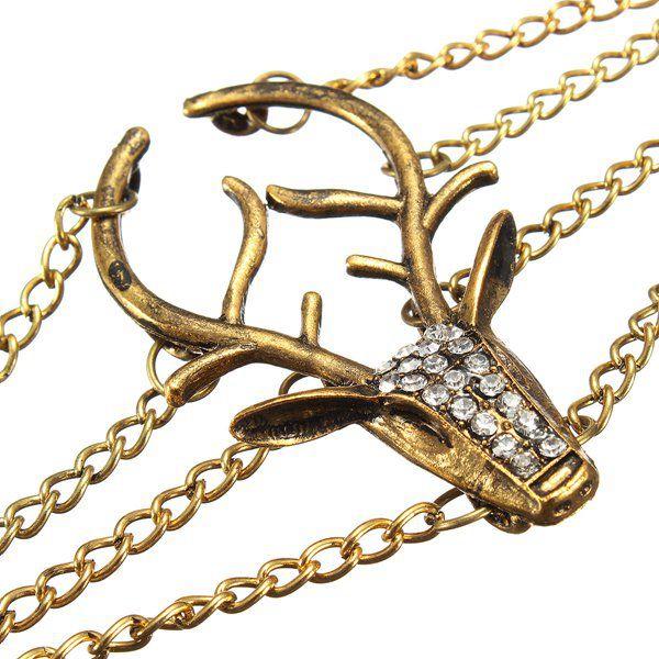 Deer Head Bracelet