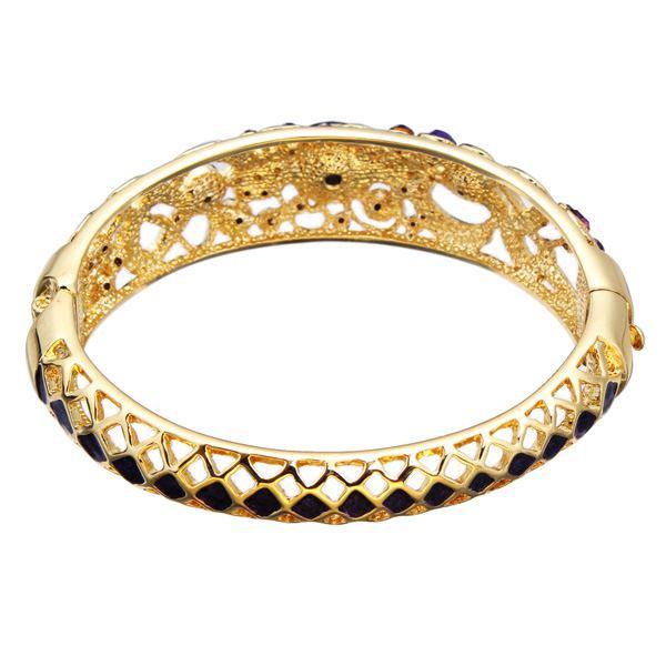 Cloisonné Crystal Enamel Bracelet