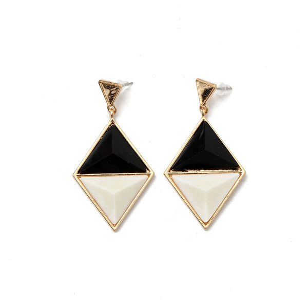 Buy Triangle Geometric Pendant Dangle Earrings Eardrop For Women