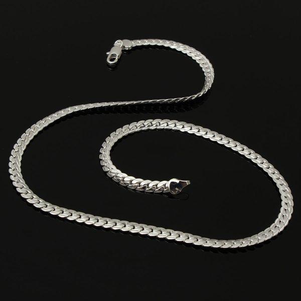 Bib Thick Snake Link Chain
