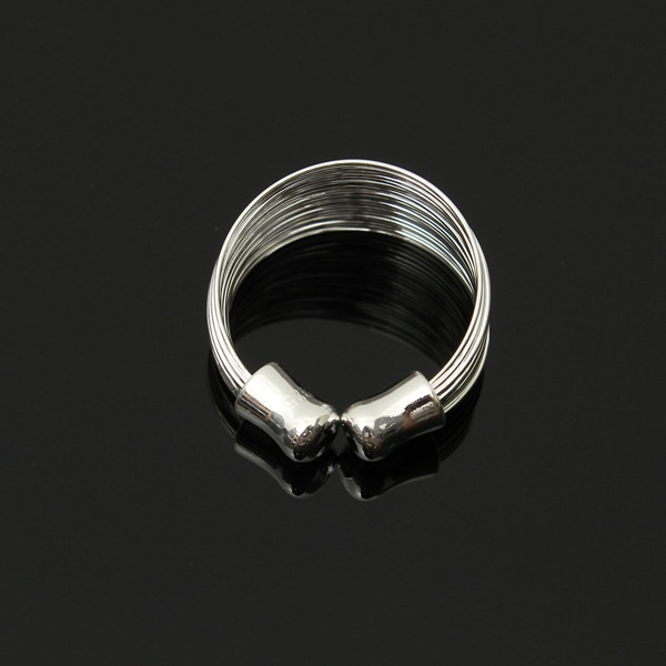 Multi Line Finger Ring