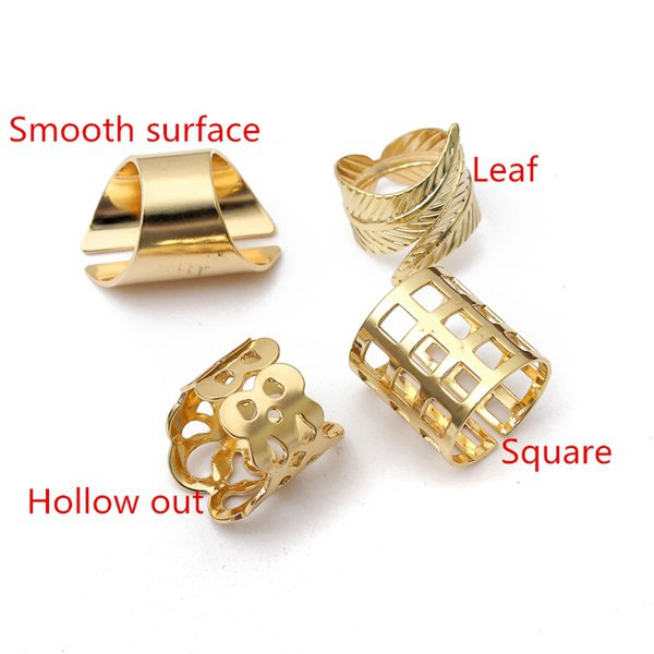 Vintage Hollow Square Ring