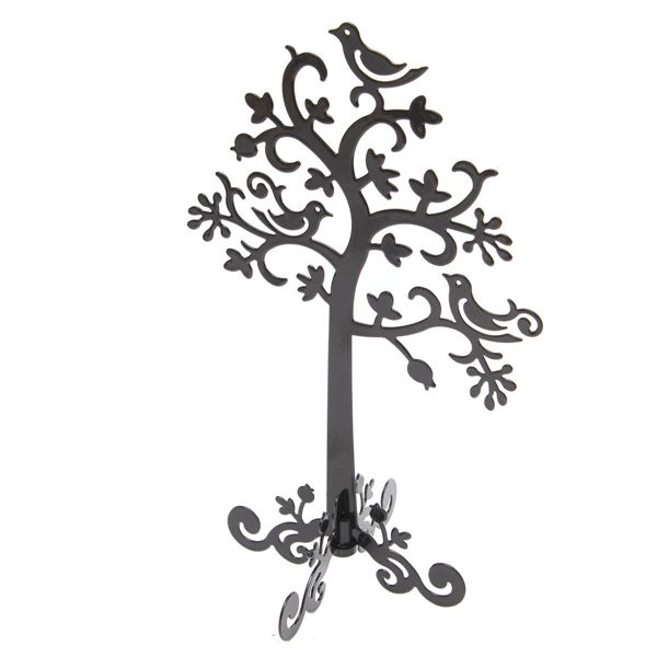 Tree Bird Display Stand Holder