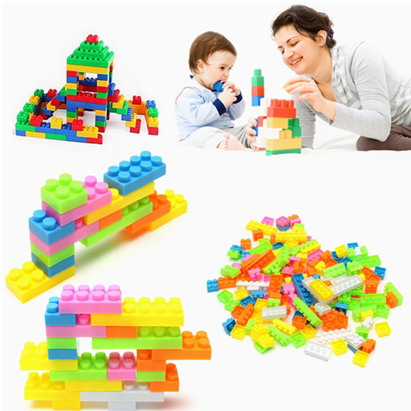 144pcs Plastic Building Blocks Children Kids Toy Puzzle Educational Gifts - EachineBlock &amp; Building Toys<br>144pcs Plastic Building Blocks Children Kids Toy Puzzle Educational Gifts Description: Lets Play together, Funny And Intelligence. Use Your Imagination To Design Your Own Style. More Modeling Waiting For You To Building. Features: 1.A Variety Of Colors, Help Your Babys Color Resolution 2.To Develop Childrens Ability To Recognize Spatial Structure And Cognition. 3.Training On Logical Thinking, Give Full Play Of Childrens Imagination And Creativity 4.High Quality Building Blocks, Security, Environmental Protection, No Burr, Slick Not To Injury. Specification: Color: Orange, Pink, White, Blue, Green, Yellow Size:1.6~4.8cm Material: PC Suitable For: Ages 3+ Package Include: 144 x Plastic Building Blocks NOTE: Please Play Under Accompanied By Parents.<br>