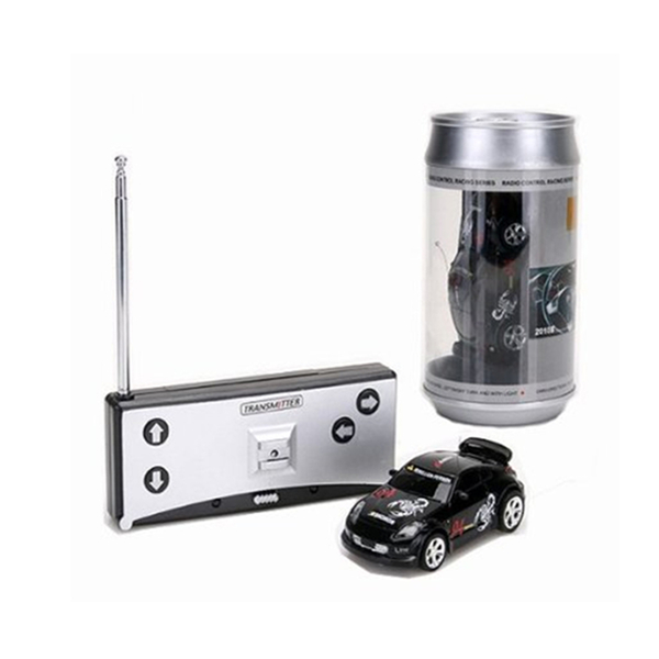 Coke Can Mini RC Radio Remote Control Micro Racing Car 4 Frequencies