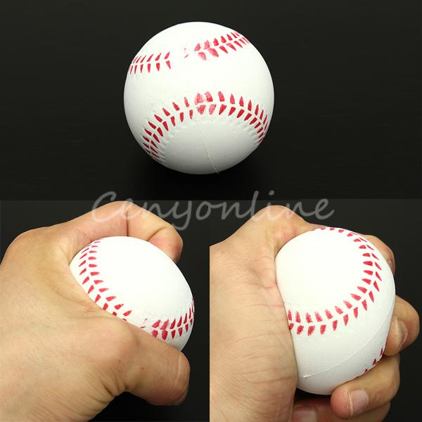 Buy Baseball Stress Relief Relaxation Squeeze Venting Foam Ball