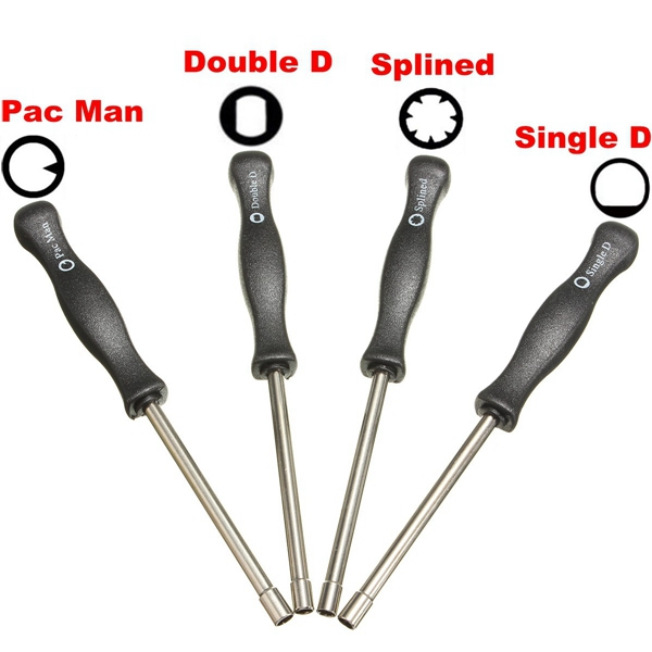 4pcs Carburetor Tool Trimmer Lawnmowers Screwdriver Kit For Zama Walbro