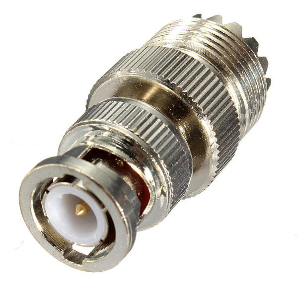 SO239 UHF Female Jack to BNC Male Plug RF Coaxial Adapter Connector (Eachine1) Corona Продать товары