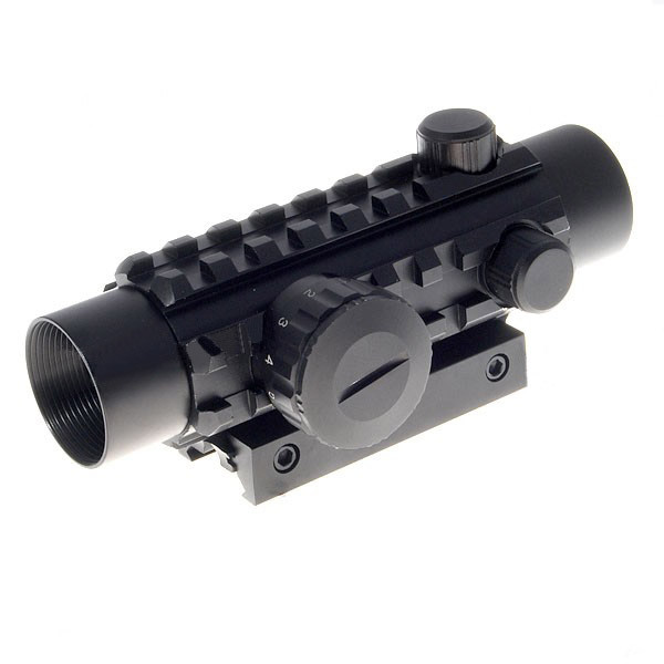 1*30 Reflex Laser Sight Rifle Scope(Red+Green Laser Configurable) tactical 4x32 red optics fiber rifle scope picatinny rail adapter hunting shooting rbo m5135