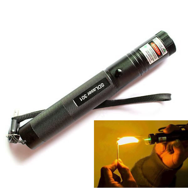 Burning Laser 301 Green Laser Pointer 5mw