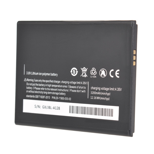 Original 3200mAh Lithium-ion Polymer Battery For Mlais M52 Red Note