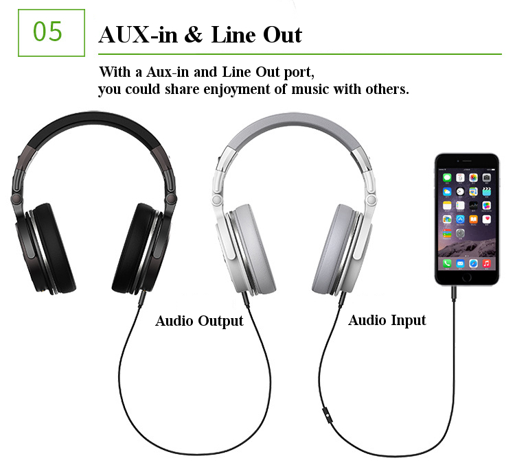 Langsdom BT28 Adjustable AUX-in Line Out Microphone Voice Prompt HIFI Bluetooth Headphone
