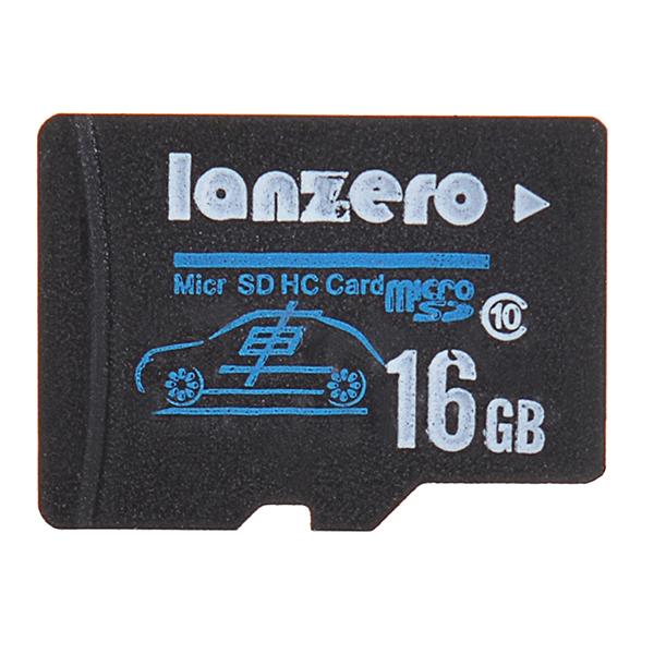 Buy Lanzero 16GB MicroSD Class10 TF Tachograph Memory Card for Xiaomi Yi EKEN H9 H8 sj5000x sj5000 plus K6000 sj4000 M20 Gitup 2 H8R Pro Car DVR Action Camera