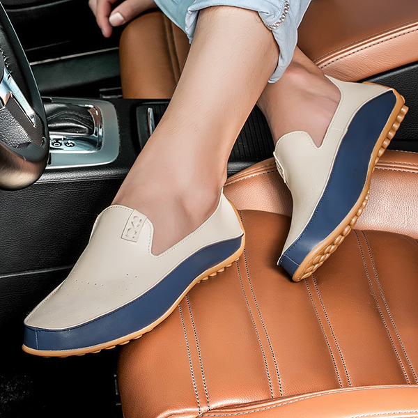 US Size 6.5-11.5 Men Shoes Outdoor Casual Round Toe Slip On Breathable Flats