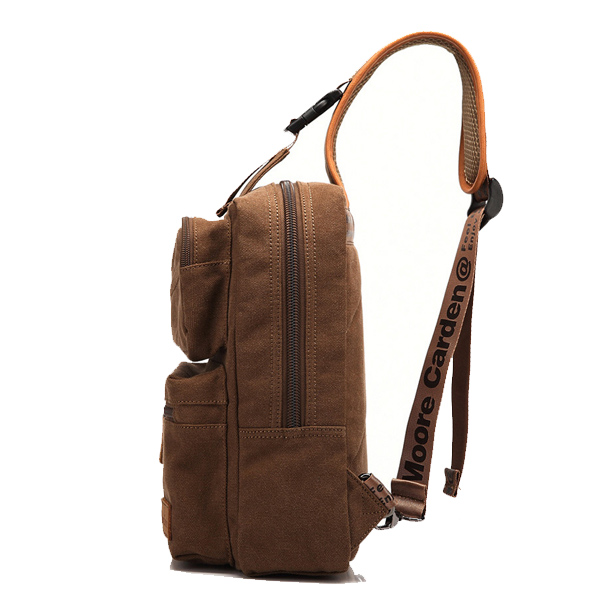 Men's Canvas Casual Shoulder Bag Crossbody Bag