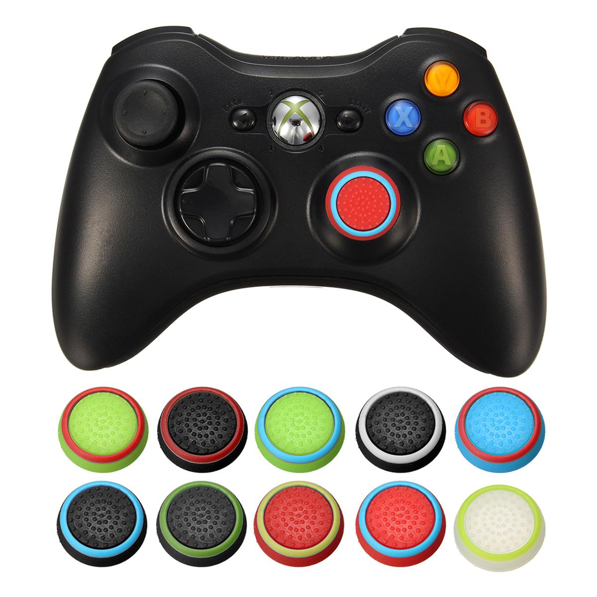 Rubber Silicone Thumbstick Joystick Cap Thumbstick Cover Grips For PS4 For PS3 For Xbox One For XBOX360 Wireless Controller 6