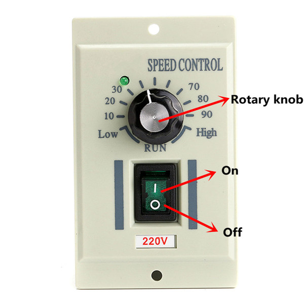 220v ac speed control controller for 400w motor output dc for Ac speed control motor