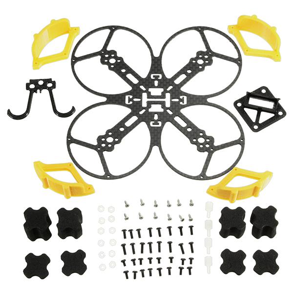 FQ85 85mm Frame Kit 1.5mm 3K Carbon Fiber Support 1102 1103 1104 Motor - Photo: 5