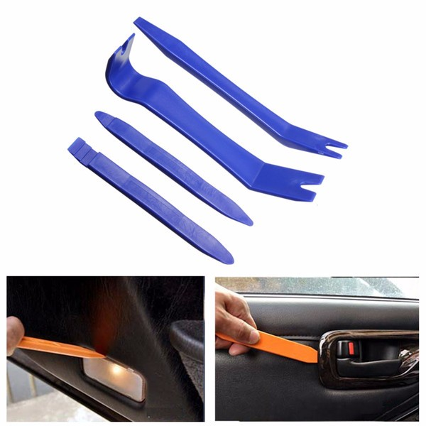 Фото 4Pcs Car Removal Tools Auto Door Clip Panel Radio Trim Dash Audio Installer Pry