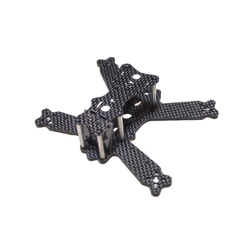 Deformation Insects 130MM Carbon Fiber Frame Kit QAV Quadcopter Multicopter f08151 b 500mm multi rotor air frame kit s500 w landing gear esc motor welded qq super control board t8fb 8ch rx